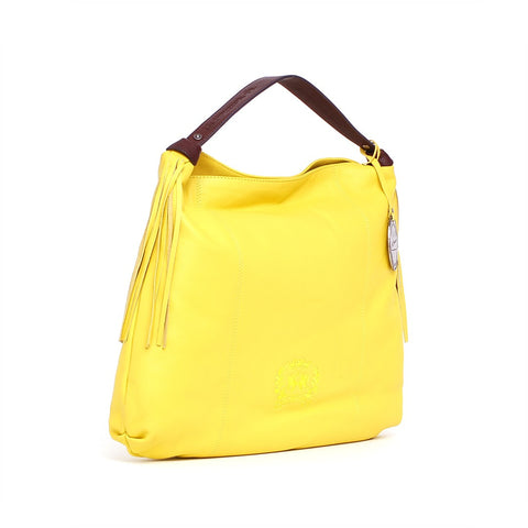 LA MARTINA Women's Yellow Bluberry 001 Hobo Bag - Fashion Res Publica  - 2