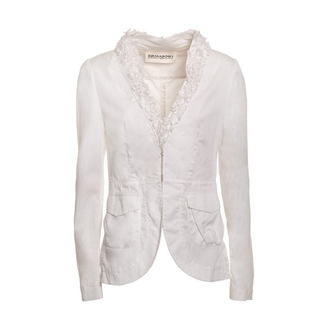 ERMANNO by Ermanno Scervino Trimmed Jacket