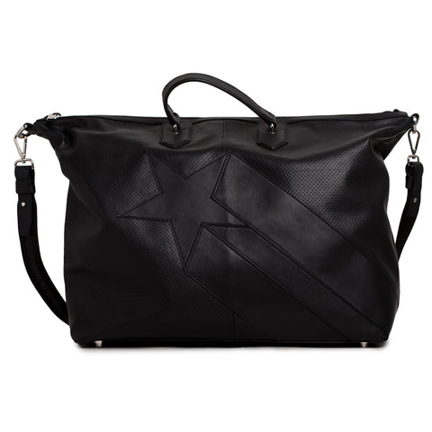 Dirk Bikkemberg Sport Couture Leather Duffle Bag