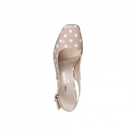 Made in Italia Eco-leather Polka dots Sandals