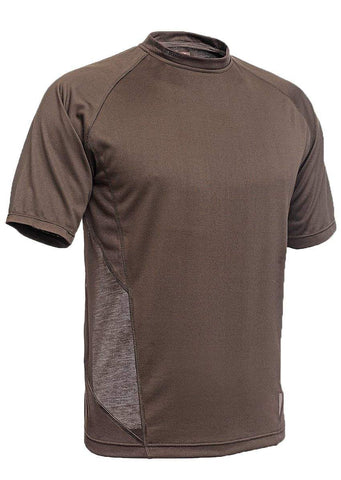 Ventilated T-Shirt Short Sleeve - 518-Shirts-Hillman