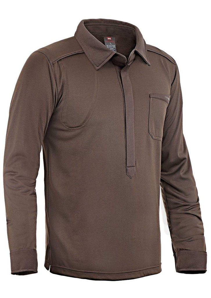 Men's Hunting Stretch Shirt with Collar | by Hillman® | Hillmanhunting.com