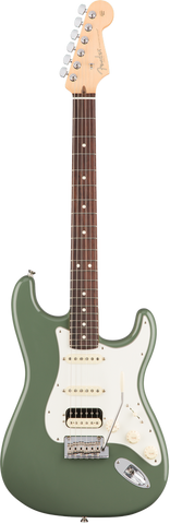 Fender American Professional Stratocaster® HSS Shawbucker Rosewood Fingerboard Antique Olive
