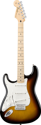 Fender Standard Stratocaster® Left-Handed Maple Fingerboard Brown Sunburst