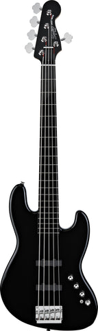 Squier Deluxe Jazz Bass® V Active (5 String) Ebonol Fingerboard Black