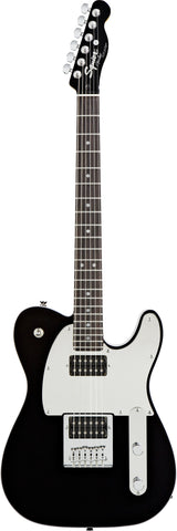 Squier® J5 Telecaster® Rosewood Fingerboard Black/Chrome