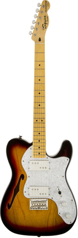 Squier Vintage Modified '72 Telecaster Thinline Maple Fingerboard 3-Color Sunburst