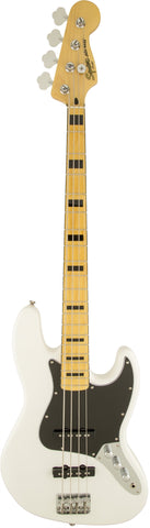 Squier Vintage Modified Jazz Bass '70s Maple Fingerboard Olympic White