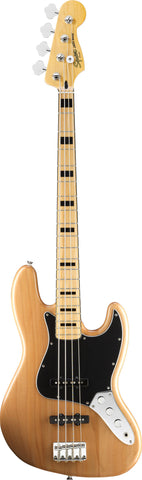 Squier Vintage Modified Jazz Bass® '70s Maple Fingerboard Natural
