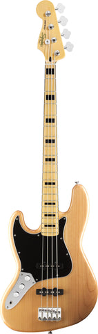 Squier Vintage Modified Jazz Bass® '70s Left-Handed Maple Fingerboard Natural