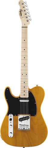 Squier Affinity Series™ Telecaster® Left-Handed Maple Fingerboard Butterscotch Blonde