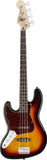Squier Vintage Modified Jazz Bass® Left-Handed Rosewood Fingerboard 3-Color Sunburst