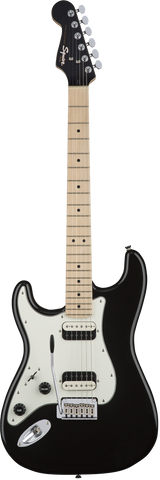 Squier Contemporary Stratocaster® HH Left-Handed Maple Fingerboard Black Metallic