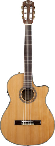 Fender CN-240SCE Thinline Classical Natural