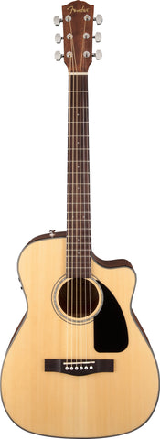 Fender CF-60CE Folk Rosewood Fingerboard Natural