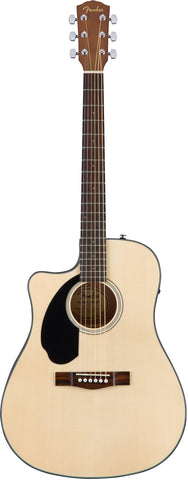 Fender CD-60SCE LH Left-Handed Natural