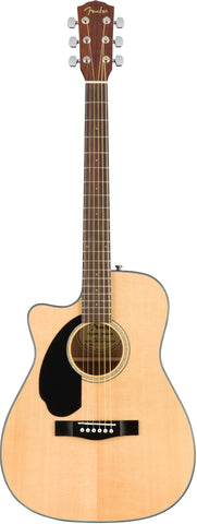 Fender CC-60SCE LH Left-Handed Natural