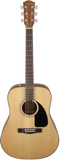 Fender CD-60 Dreadnought V3 Walnut Fingerboard Natural w/Case