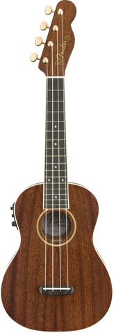 Fender Grace Vanderwaal Signature Concert Ukulele Walnut Fingerboard Natural