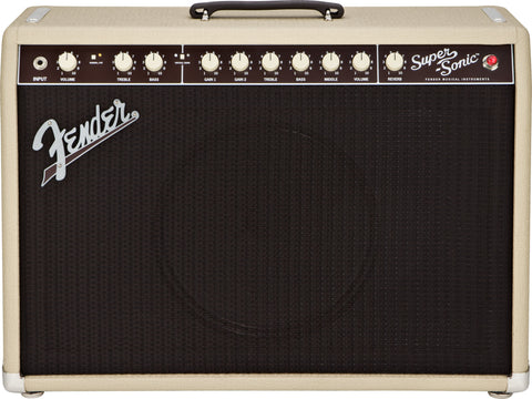 Fender Super-Sonic™ 60 Combo Blonde