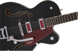 "Gretsch G5410T Electromatic® ""Rat Rod"" Hollow Body Single-Cut with Bigsby® Rosewood Fingerboard Matte Black"