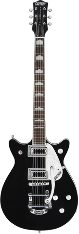 Gretsch G5445T Double Jet™ with Bigsby® Rosewood Fingerboard Black