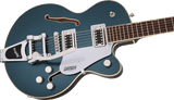 Gretsch G5655T Electromatic® Center Block Jr. Single-Cut with Bigsby® Laurel Fingerboard Jade Grey Metallic