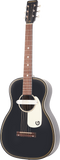 Gretsch G9520E Gin Rickey Acoustic/Electric with Soundhole Pickup Walnut Fingerboard Smokestack Black