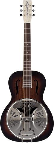 Grestch G9220 Bobtail™ Round-Neck A.E. Resonator 2-Color Sunburst