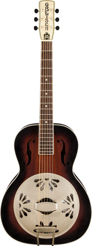Gretsch G9240 Alligator™ Biscuit Roundneck Resonator 2-Color Sunburst