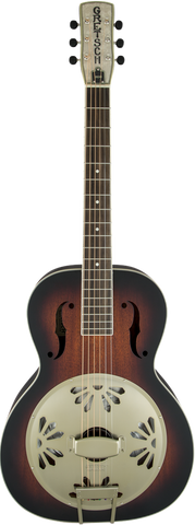 Gretsch G9241 Alligator™ Biscuit Round-Neck Resonator Guitar with Fishman® Nashville Pickup 2-Color Sunburst