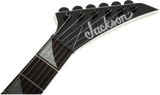 Jackson JS Series Dinky™ Arch Top JS22 DKA Amaranth Fingerboard Snow White