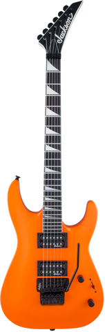 Jackson JS Series Dinky™ Arch Top JS32 DKA Amaranth Fingerboard Neon Orange
