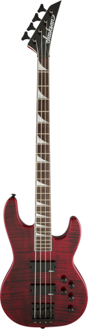 Jackson CBXNT IV X Series Concert™ Bass Rosewood Fingerboard Transparent Red