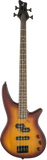 Jackson JS Series Spectra Bass JS2 Laurel Fingerboard Tobacco Burst