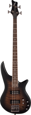 Jackson JS Series Spectra Bass JS3Q Laurel Fingerboard Dark Sunburst