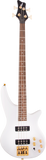 Jackson JS Series Spectra Bass JS3 Laurel Fingerboard Snow White