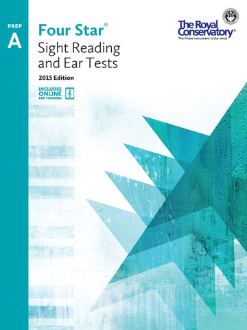 RCM Four Star Sight Reading & Ear Tests 2015 Edition