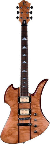 B.C Rich Mockingbird MK9 Neck-Through-Body Maple Burl