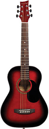 BeaverCreek 401 Series 1/2 Size Transparent Red