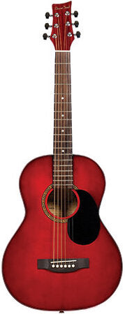 BeaverCreek 601 Series 3/4 Size Transparent Red