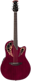 Ovation Celebrity® Elite® Mid-Depth Ruby Red