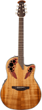Ovation Elite® Plus Celebrity® Figured Koa
