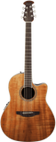 Ovation Celebrity® Plus Figured Koa