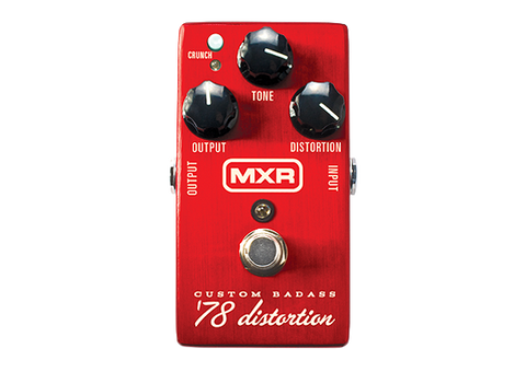 MXR M78 Custom Badass™ '78 Distortion