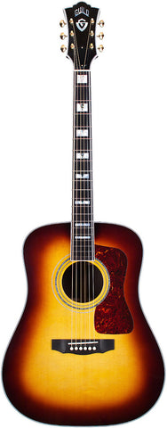 Guild D-55E Antique Sunburst with LR Baggs Pickup