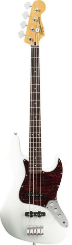 Squier Vintage Modified Jazz Bass Rosewood Fingerboard Olympic White