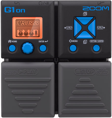 Zoom G1on Multi-Effects Processor