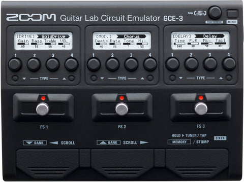 Zoom GCE-s Guitar Lab Circuit Emulator