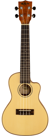 Kala KA-SSTU-SMC-C Travel Concert Ukulele with travel bag